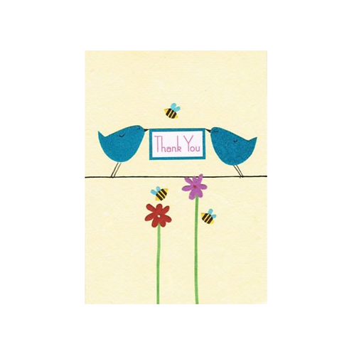 Thank you Tweets Card