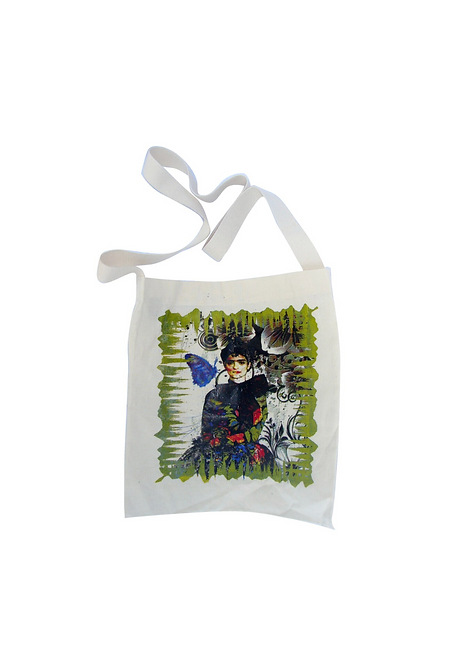 Frida Kahlo Tote - Butterfly