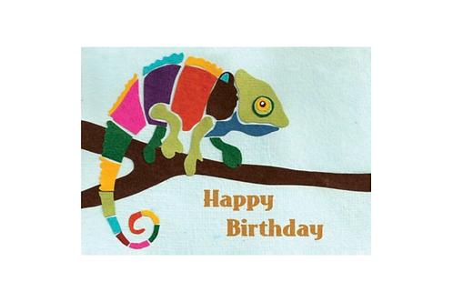 Chameleon Birthday