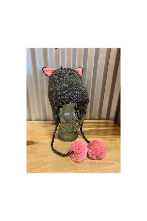 Grey Cat Hat