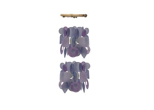 Orchid Mini Capiz Chime