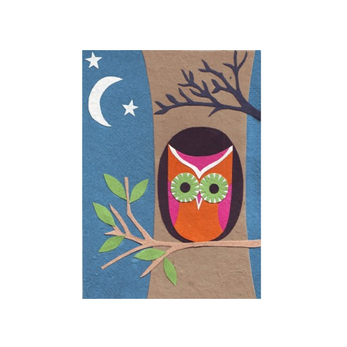 Night Owl - Any Occasion Card