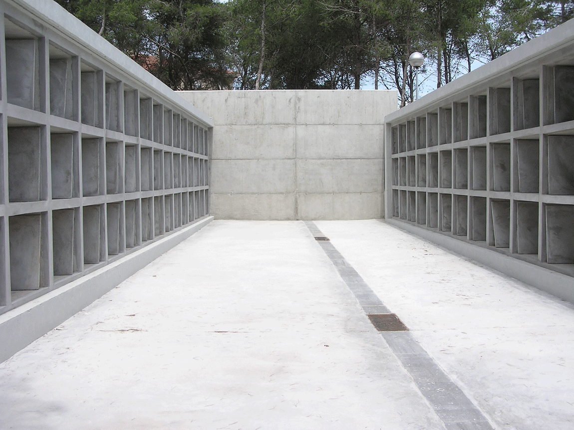 Ampliació cementiri