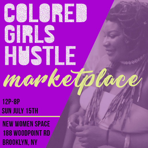 Selenia Beauty x BlaqueX @ the Colored Girls Hustle Marketplace