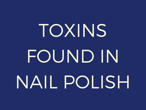 Toxins Found In Nail Polish