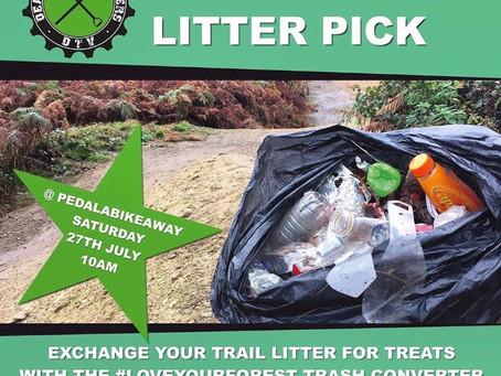 Summer Trail Litter Pick