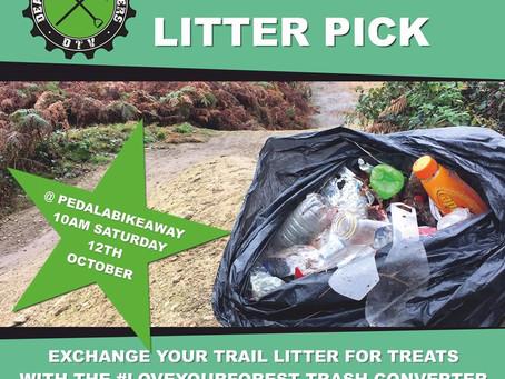 Autumn litter pick 12th October