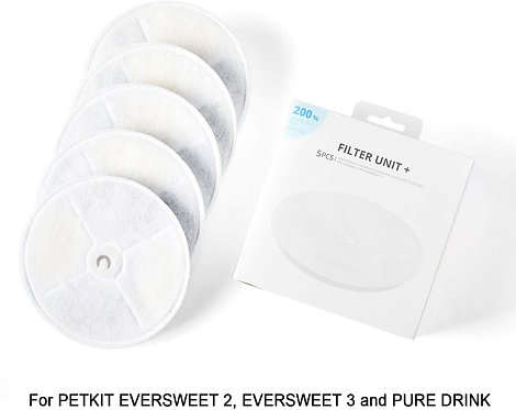PETKIT Eversweet Gen 2, Gen 3, SOLO Water Fountain Replacement Filters