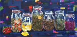 Pantry at a Syrian house 40x80cm