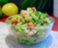 Quinoa Edamame Salad - Living Lekker