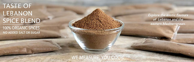 Spice Blend Recipe Page Banner - LEBANON