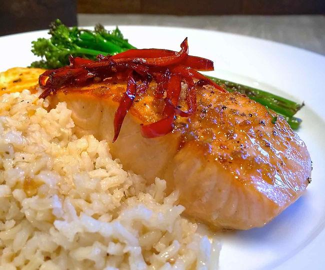 Teriyaki Salmon - Living Lekker