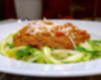Bolognese over Zoodles 8x10 WP_20150108_