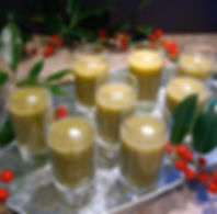 Courgette Soup Shots