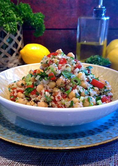 Chickpea and Quinoa Tabbouleh