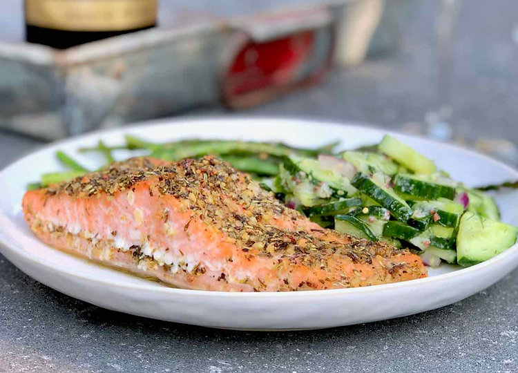 TASTE OF TUSCANY Oven Roasted Salmon