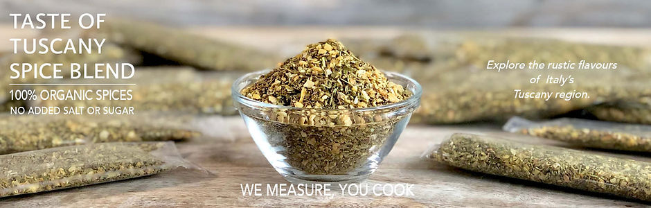 Spice Blend Recipe Page Banner - TUSCANY