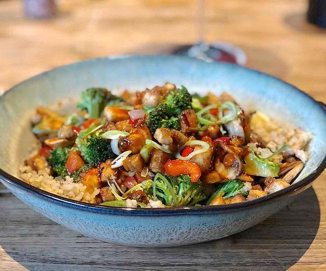 Crispy Tofu Stir-Fry - Living Lekker
