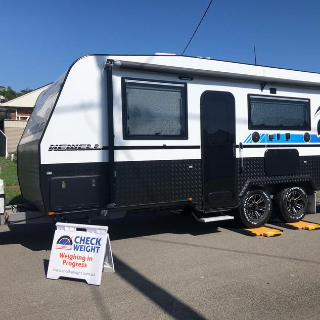 Check Weight Mobile Caravan Weighing Bob