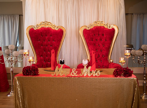 Red Throne Chairs