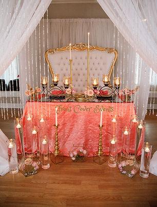 Gold Throne Sofa