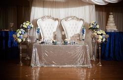 Silver Throne Chair