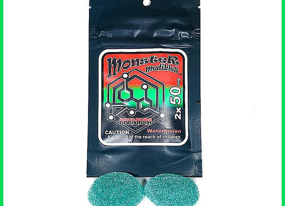 Monster Xtracts - Watermelon Gummy (2x 50mg)
