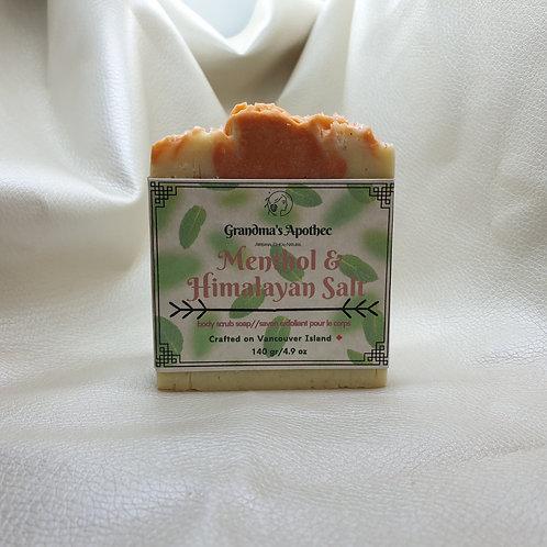 Menthol and Himalayan Salt Body Soap