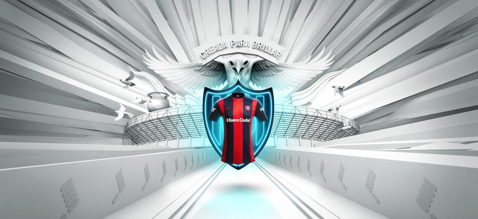 Nike SAN LORENZO Back Escudo AZUL 23-12