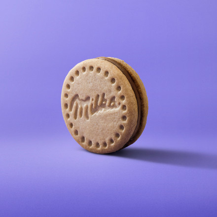 Milka Cookie Mousse VAINILLA Tres Cuarto