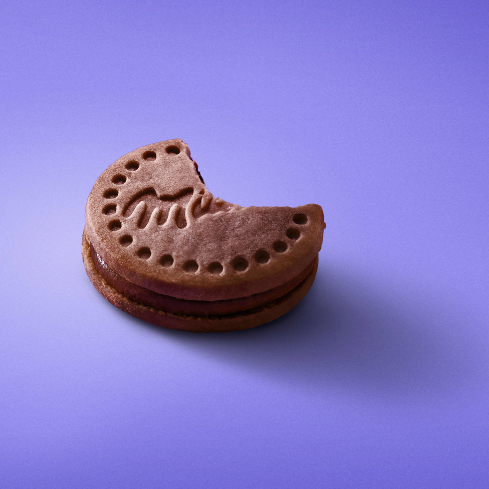 Milka Cookie Mousse Chocolate ACOSTADA M