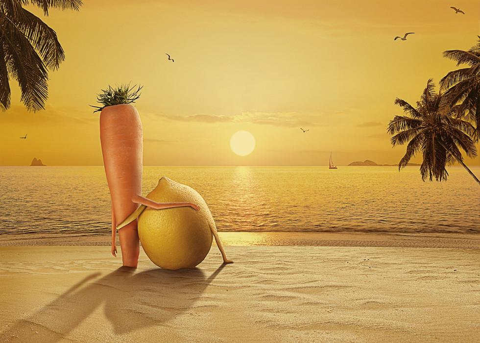 RAAWJUICES - Lemon& Carrot