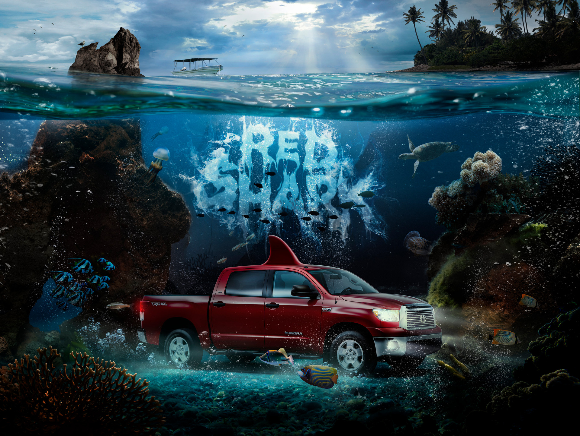 TOYOTA - Book of Names - RED SHARK