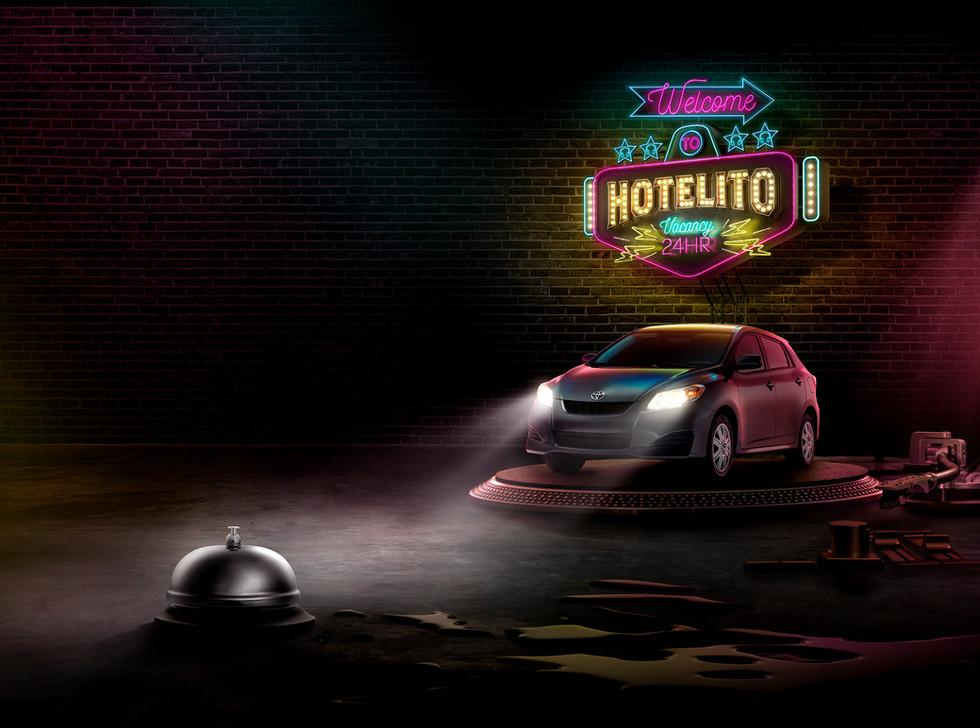 TOYOTA - Book of Names - HOTELITO