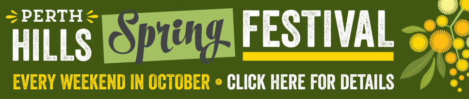 Perth Hills Spring Festival - Every weekend in October - Click for more details