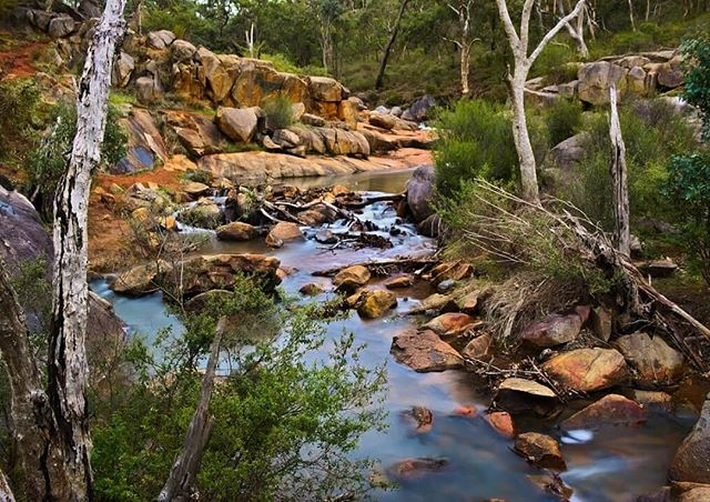 It's the best time to visit Rocky Pool in the Kalamunda National Park