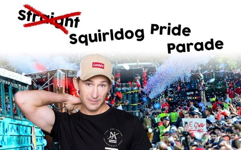 Squirldog Pride Parade - Comedy showing Saturday, 15 February at 6pm