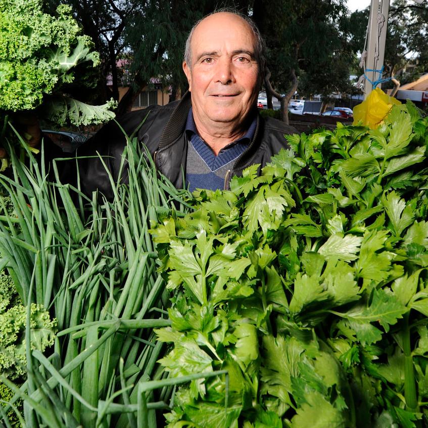 Farmers Market - Veg Stall Greens