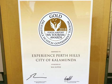 2018 Western Australia Perth Airport Tourism Awards