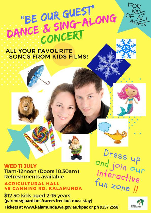 Be Our Guest - Dance & Sing-along Concert