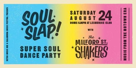 Soul Slap - Saturday 24 August