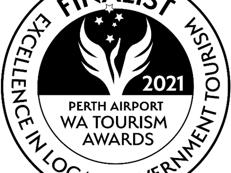 2021 Finalist WA Tourism Awards for Excellence in Local Government Tourism