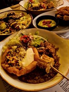 Food at Taco Maria