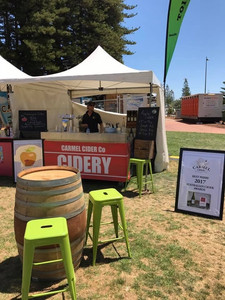 Carmel Cider Co Stall at S & R Orchard