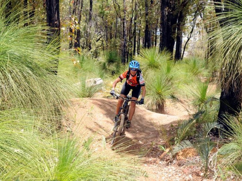Head to the hills for WA's best mountain biking trails