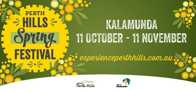 Perth Hills Spring Festival: 11 October to 11 November