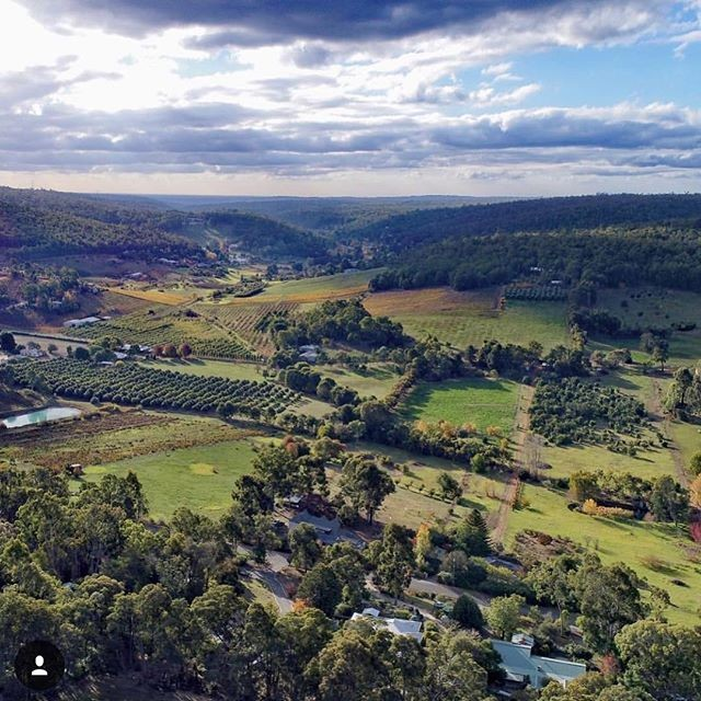 Perth Hills wine country - the stunning