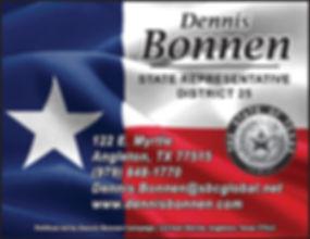 PRINT MS1809 Bonnen Dennis STOCK ad REVI