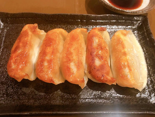 アグー豚の焼き餃子