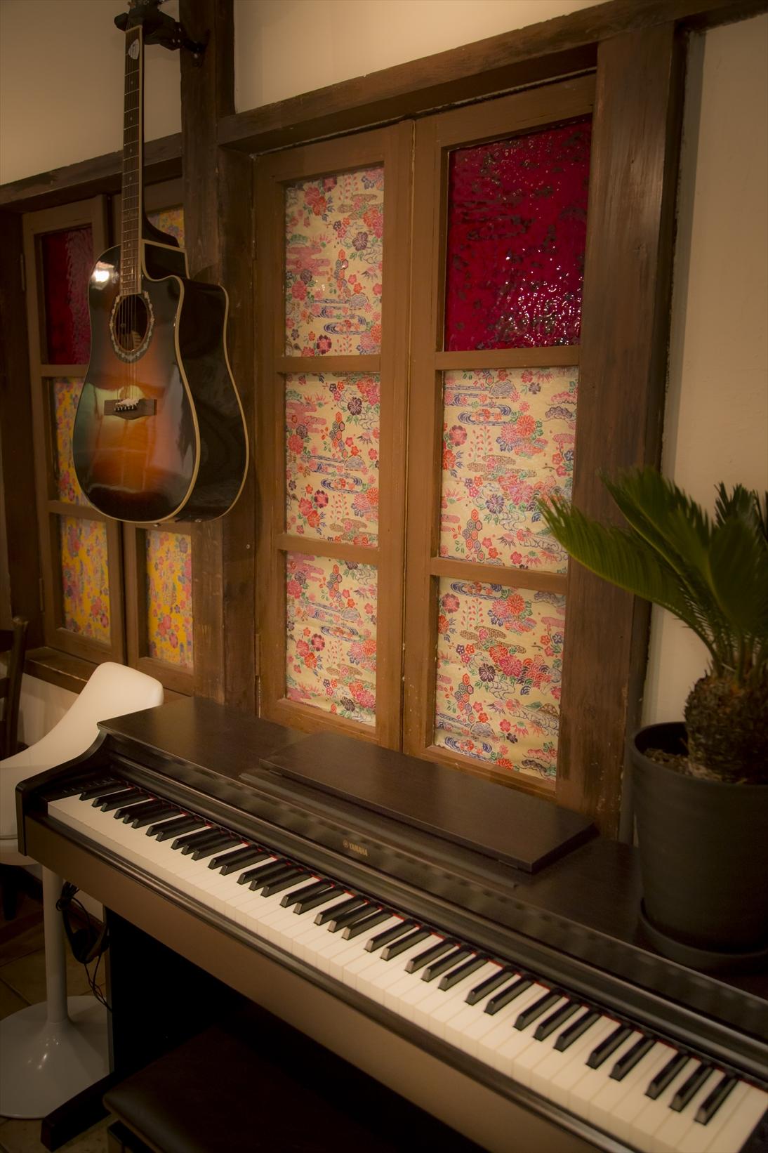 ギターとピアノ